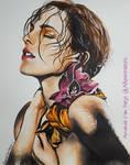 Emma Watson - Watercolor