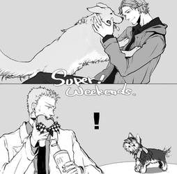 SPN dogs by squirnail