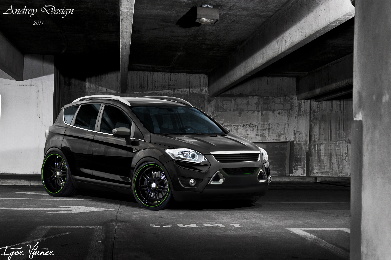 форд куга черный