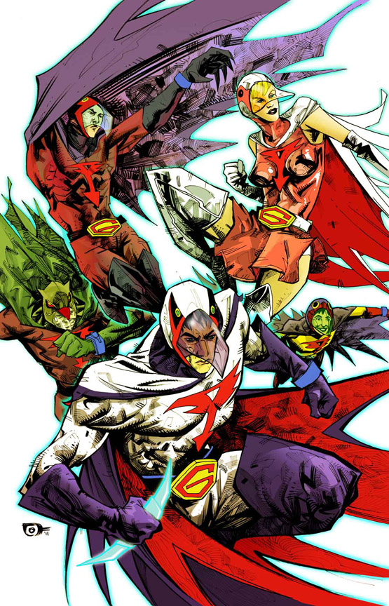 Comics Forever, Battle Of The Planets // artwork by Joh ...