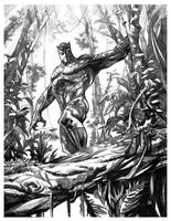 BlackPanther JungleW by johjames