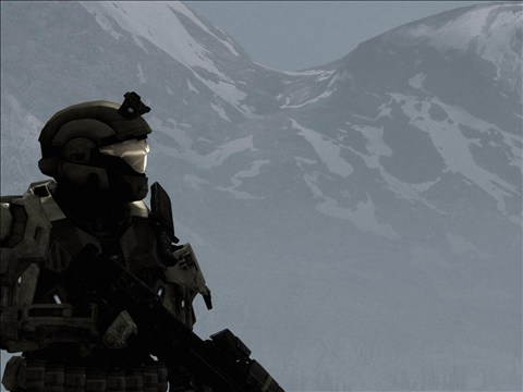 Halo Reach - Wake by pizzagrenade