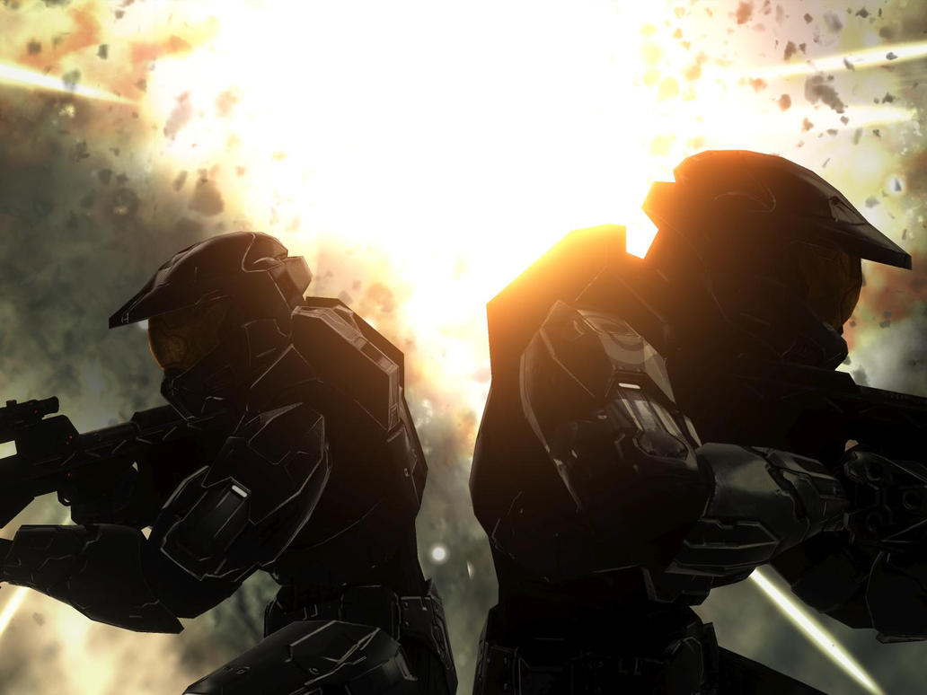 Halo 3 - Sisters by pizzagrenade