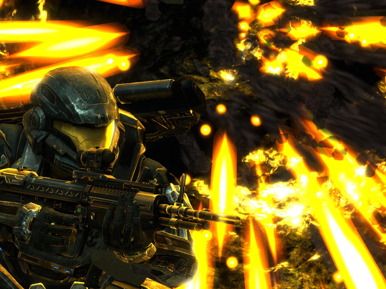 Halo: Reach - Comet by pizzagrenade