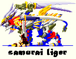 samurai liger by kenmejia