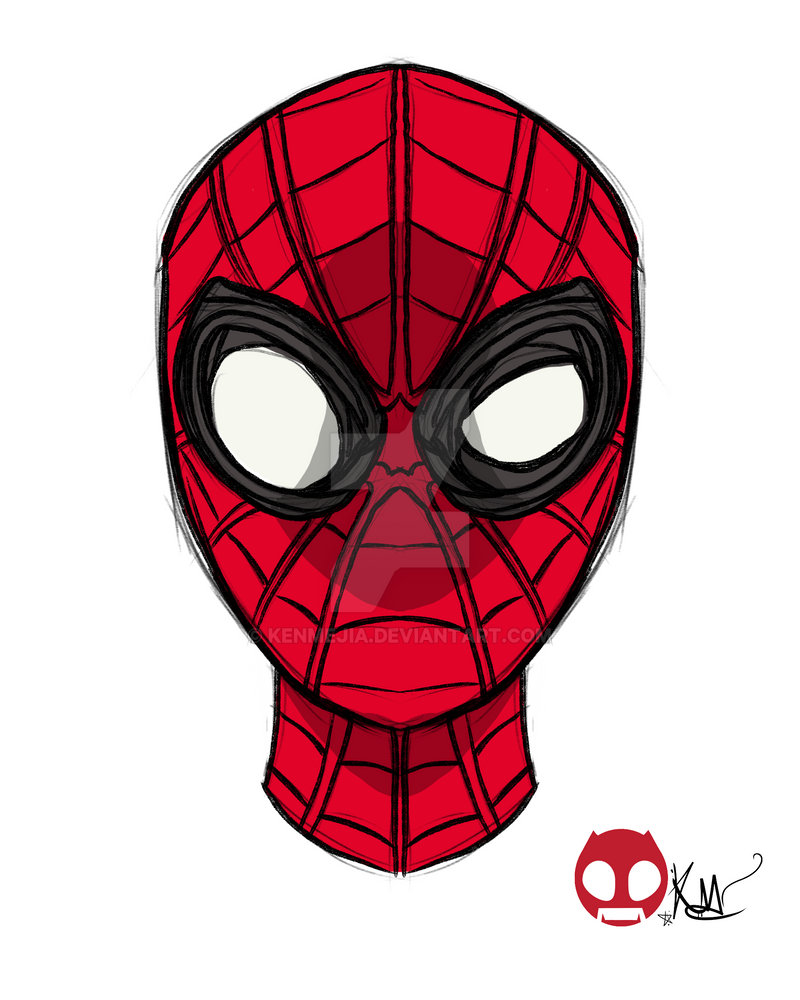 Spiderman Homecoming Stark Suit by kenmejia
