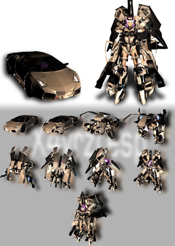 Xenosaga TRANSFORMERS 2 by JPL-Animation