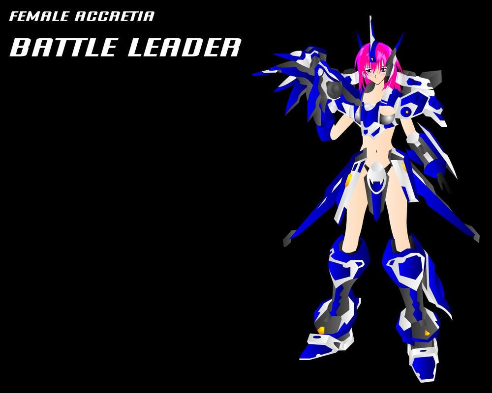 FEMME ACCRETIA BATTLE LEADER by JPL-Animation
