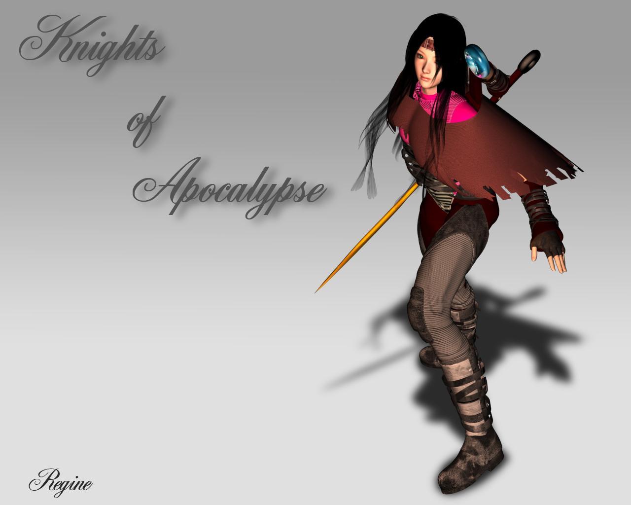 Regine - Knights of Apocalypse by JPL-Animation
