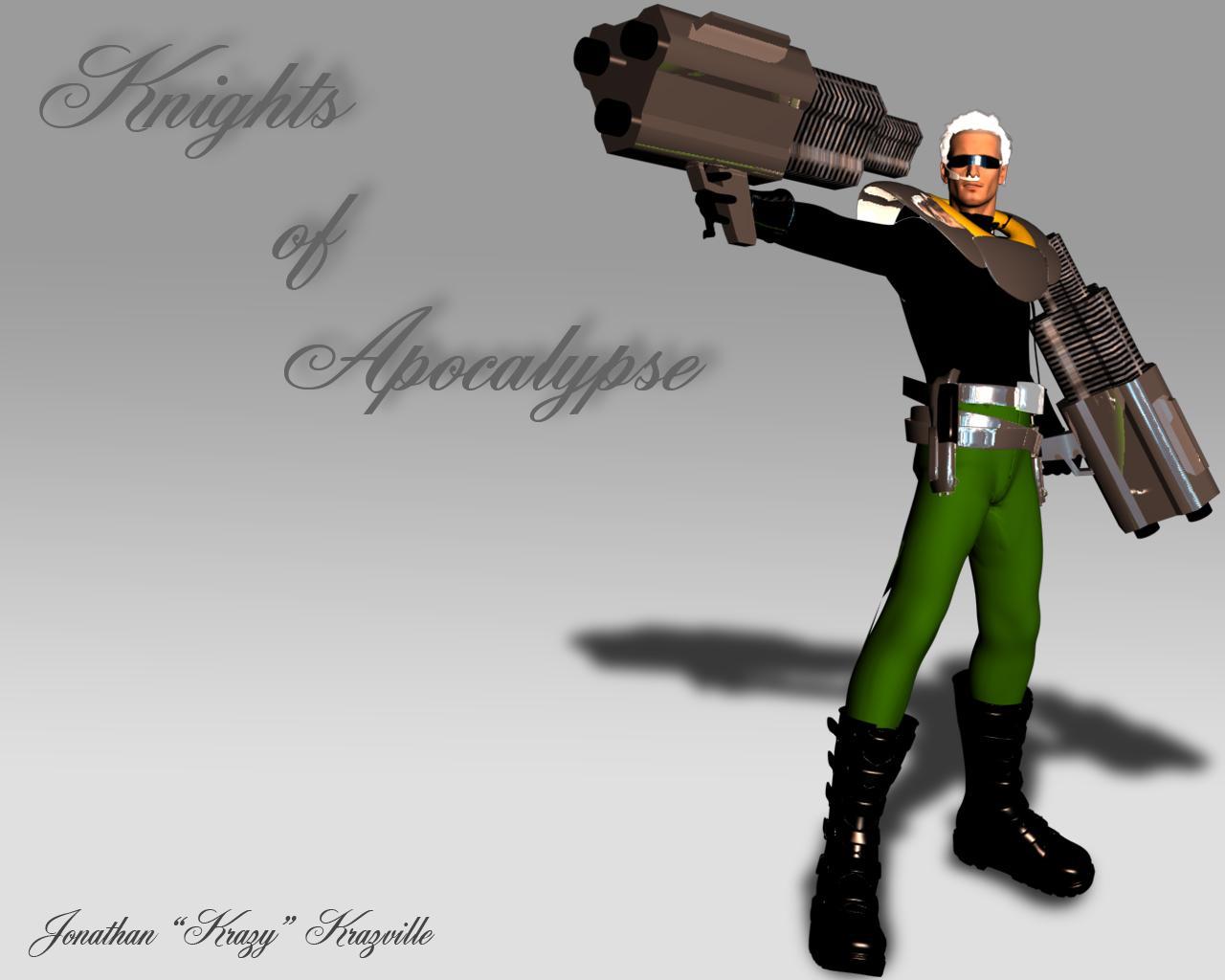 Krazz - Knights of Apocalypse by JPL-Animation