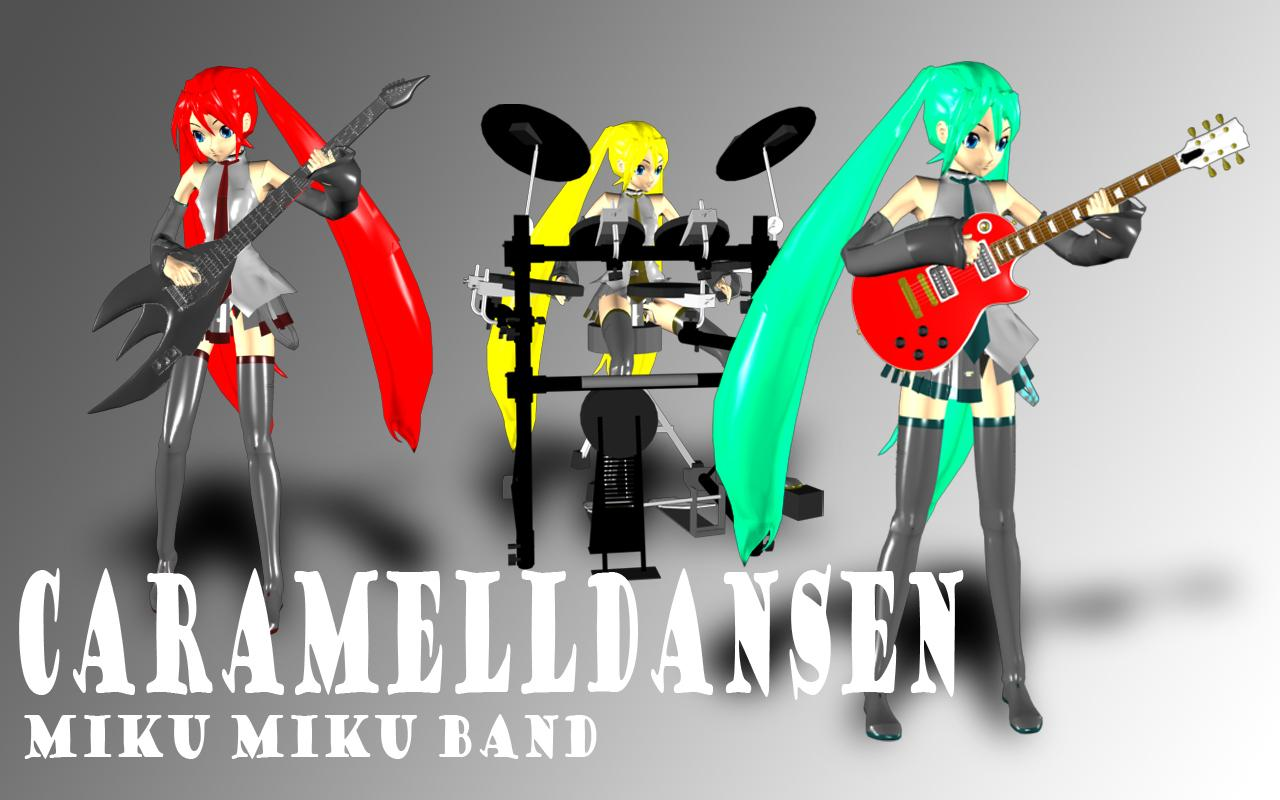 Miku Miku Band XD by JPL-Animation