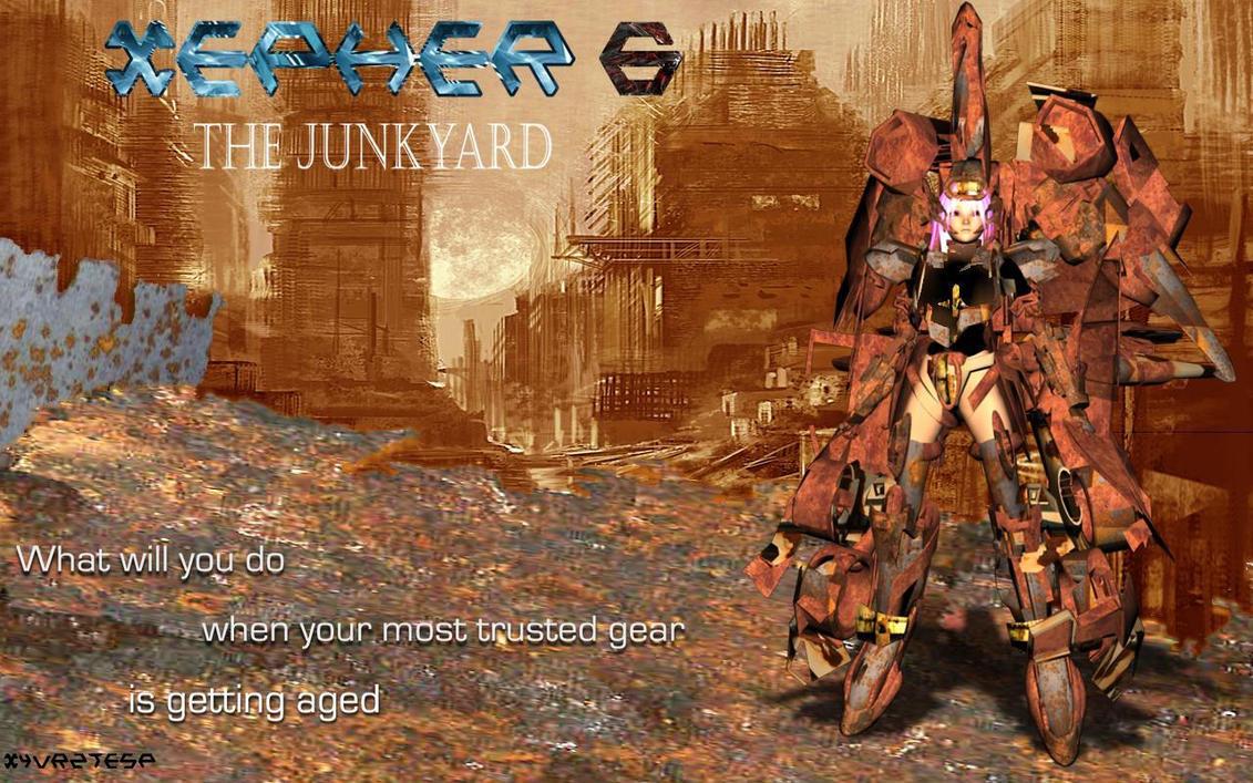 Xepher 6 Junkyard by JPL-Animation