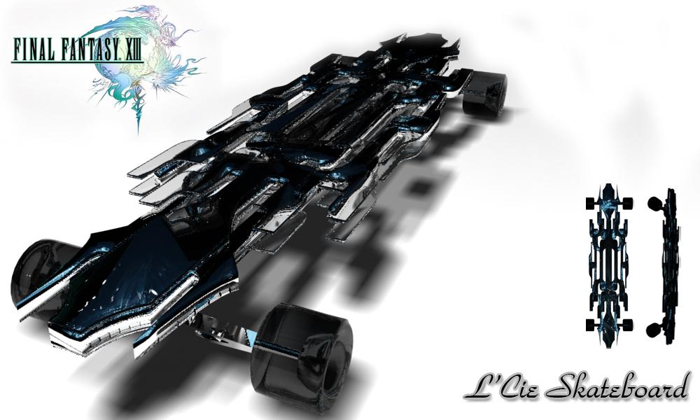 L'Cie Skateboard by JPL-Animation