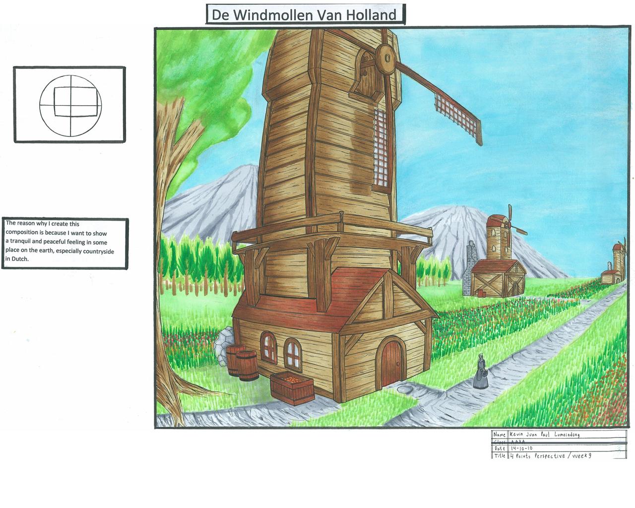 Windmollen Van Holland by JPL-Animation