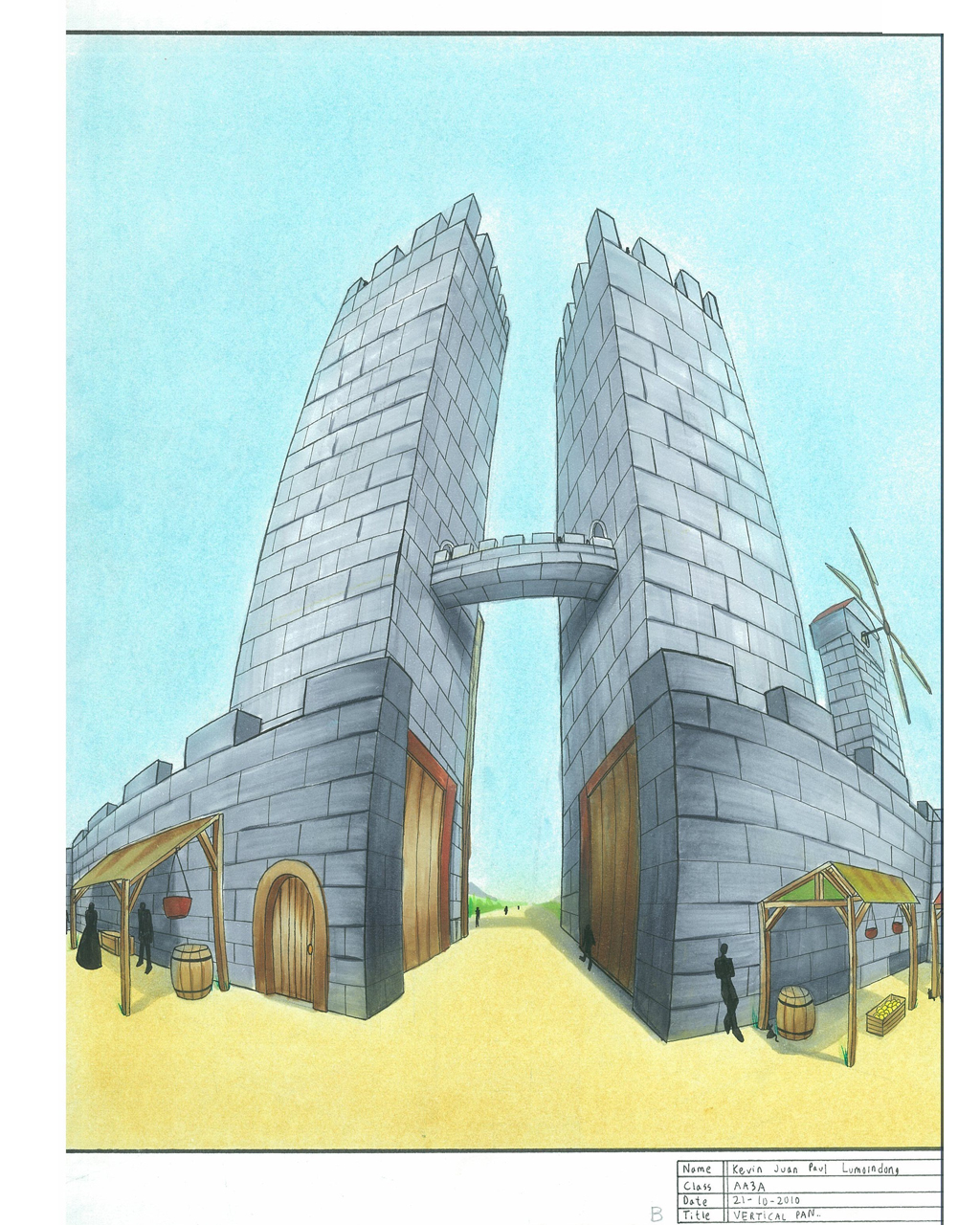 Zephyria Guard tower by JPL-Animation