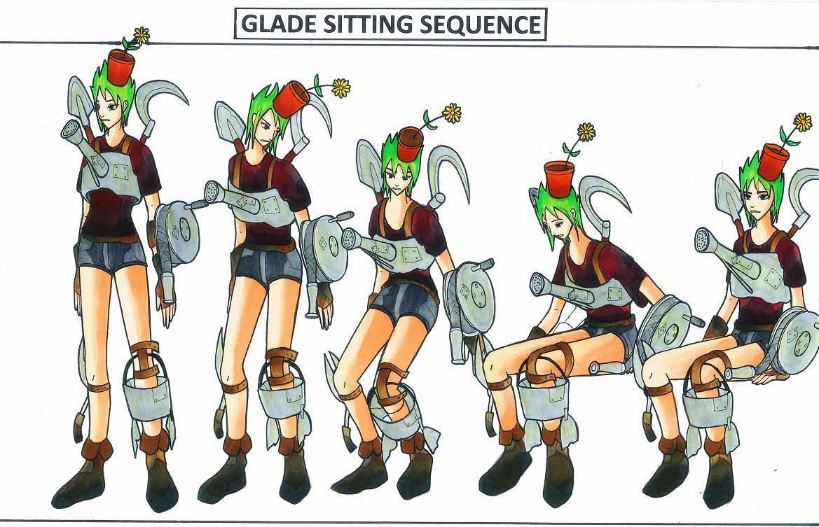GLADE 'The MEDIC GARDENER' by JPL-Animation