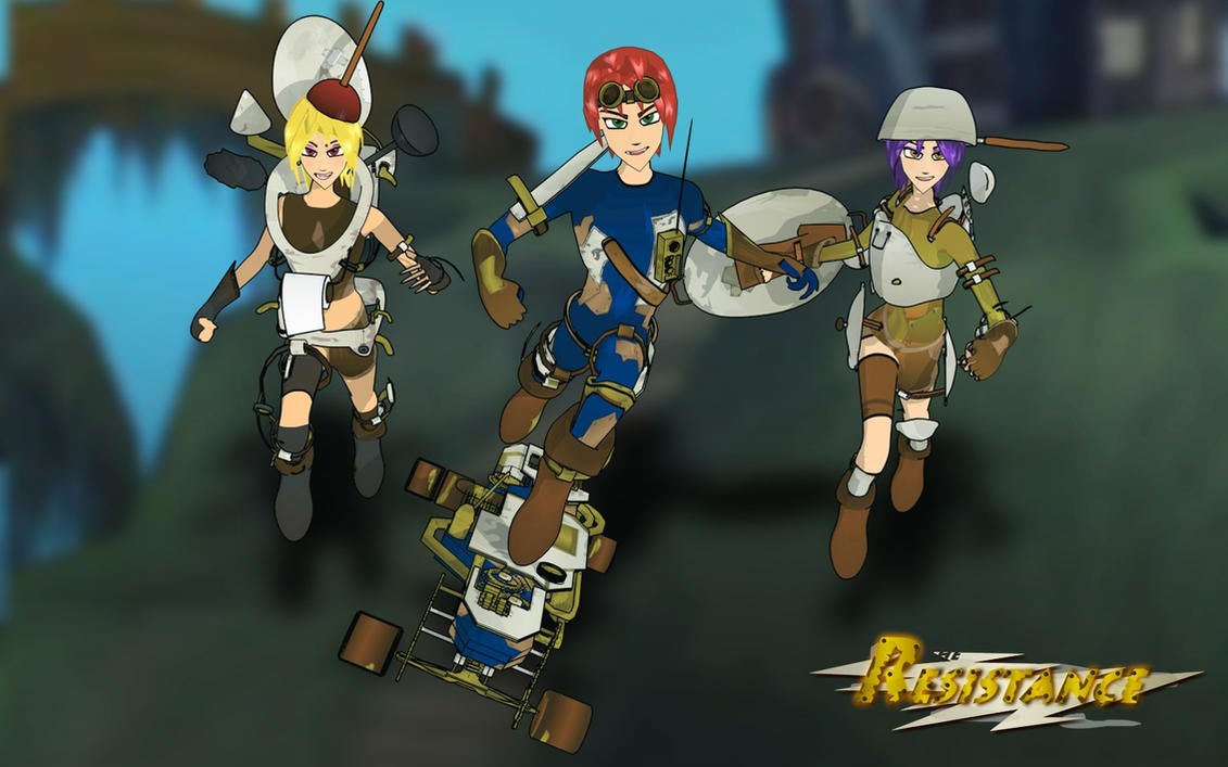 The Resistance Team 2 by JPL-Animation
