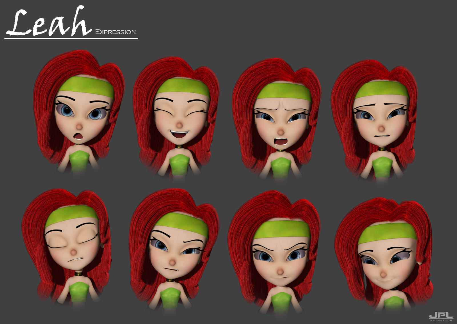 Parallel Universe - Leah Expression by JPL-Animation