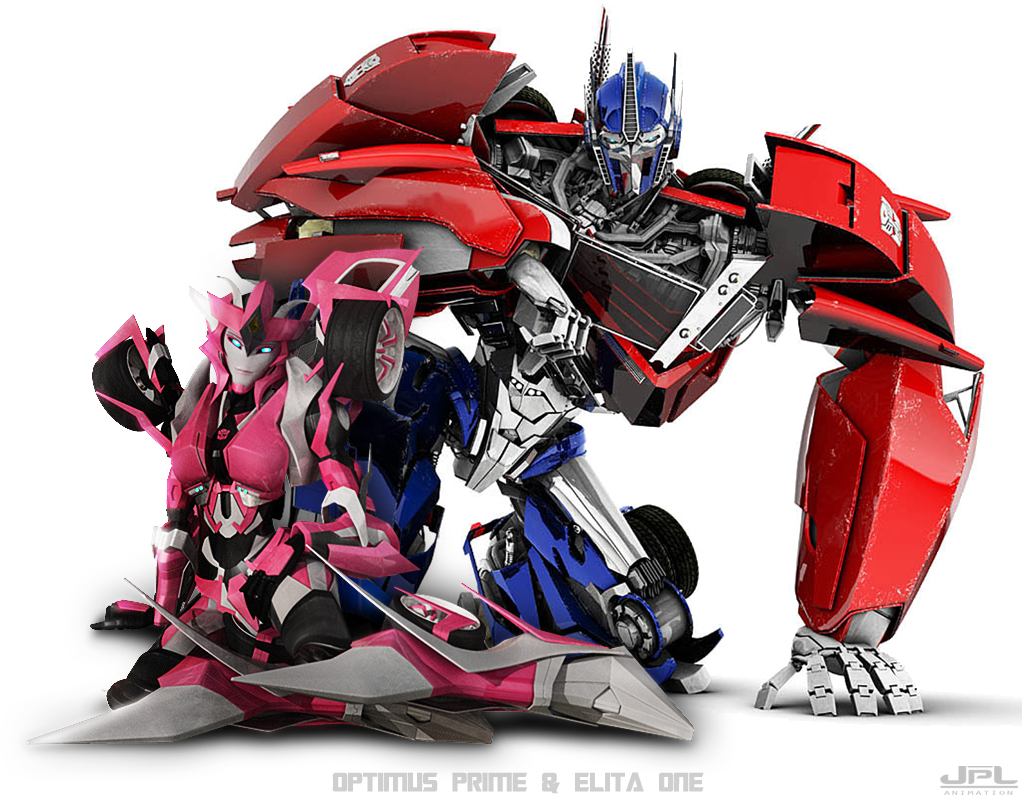 TFP - Optimus Prime - Elita One by JPL-Animation