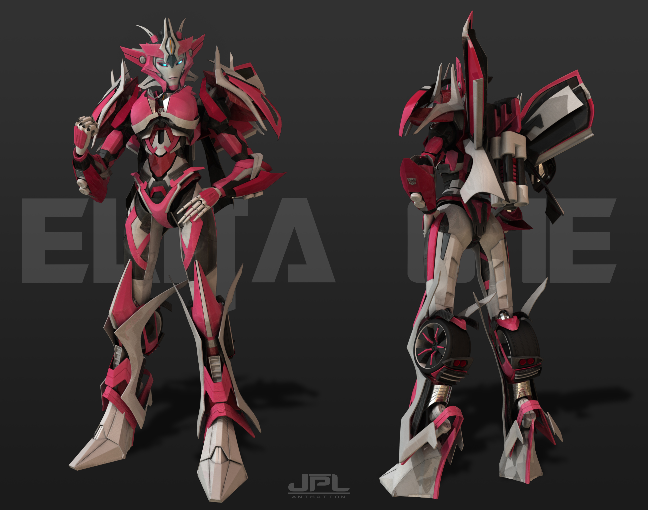 TFP - Elita One BEAST HUNTERS by JPL-Animation