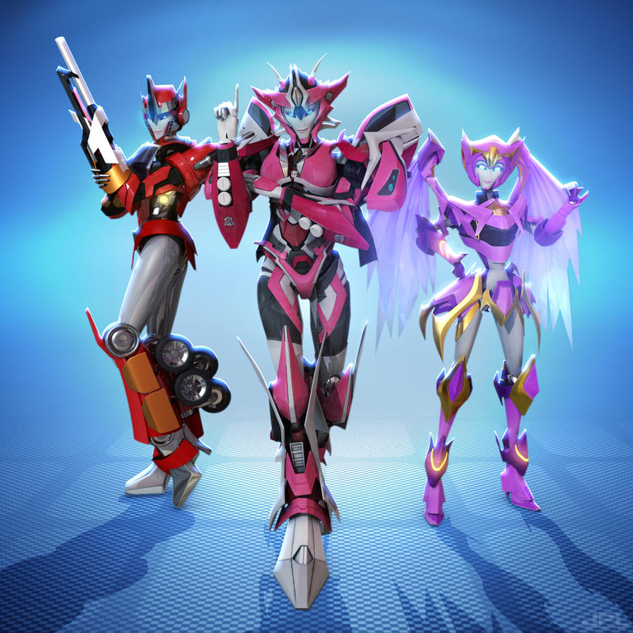 Prime's Angels ( COMMISSION ) by X4vrztesp