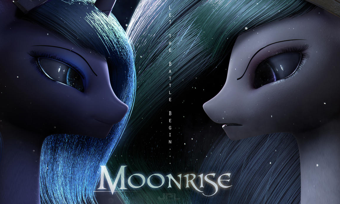 Moonrise by JPL-Animation