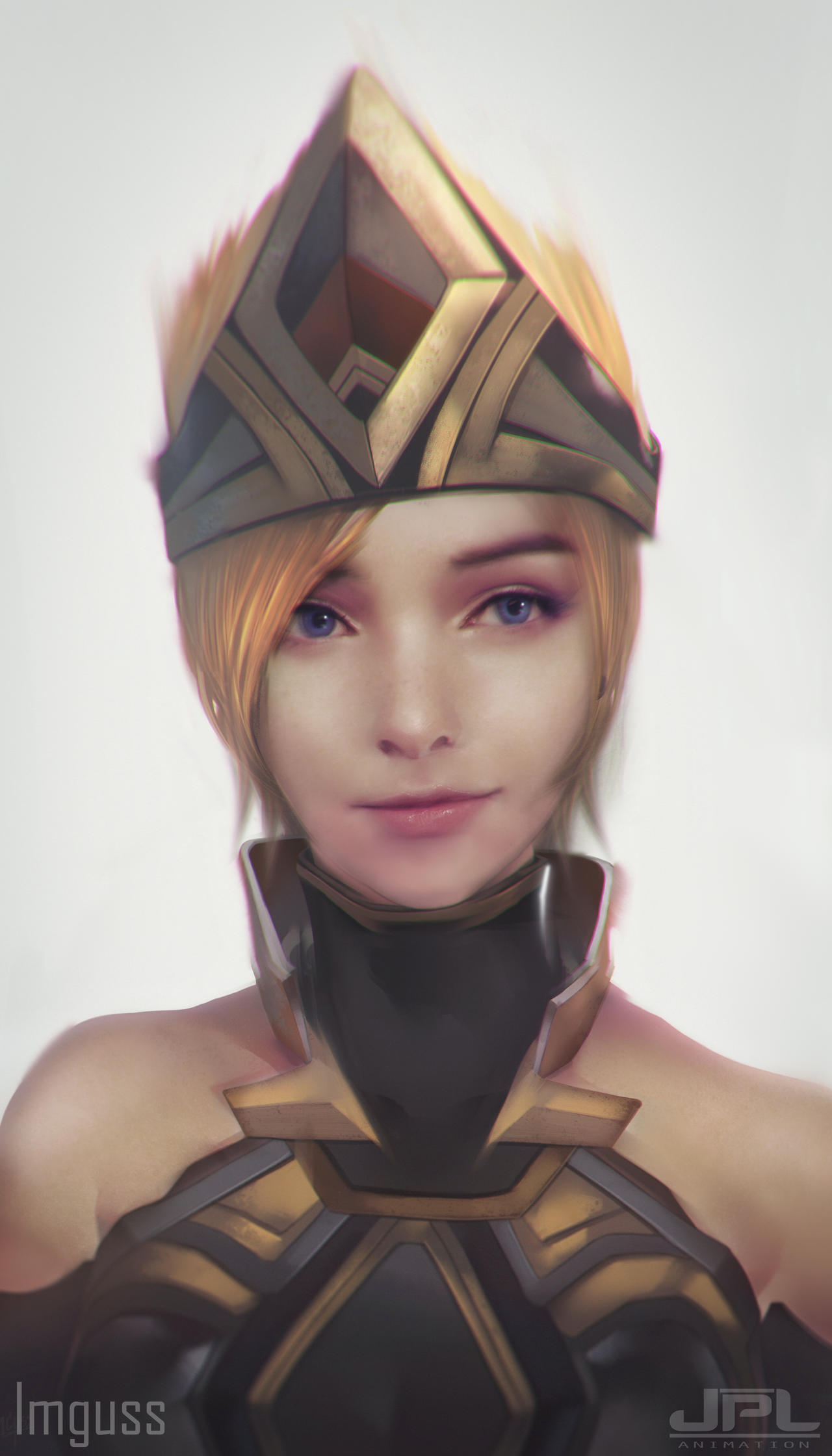 Eve Portrait by JPL-Animation