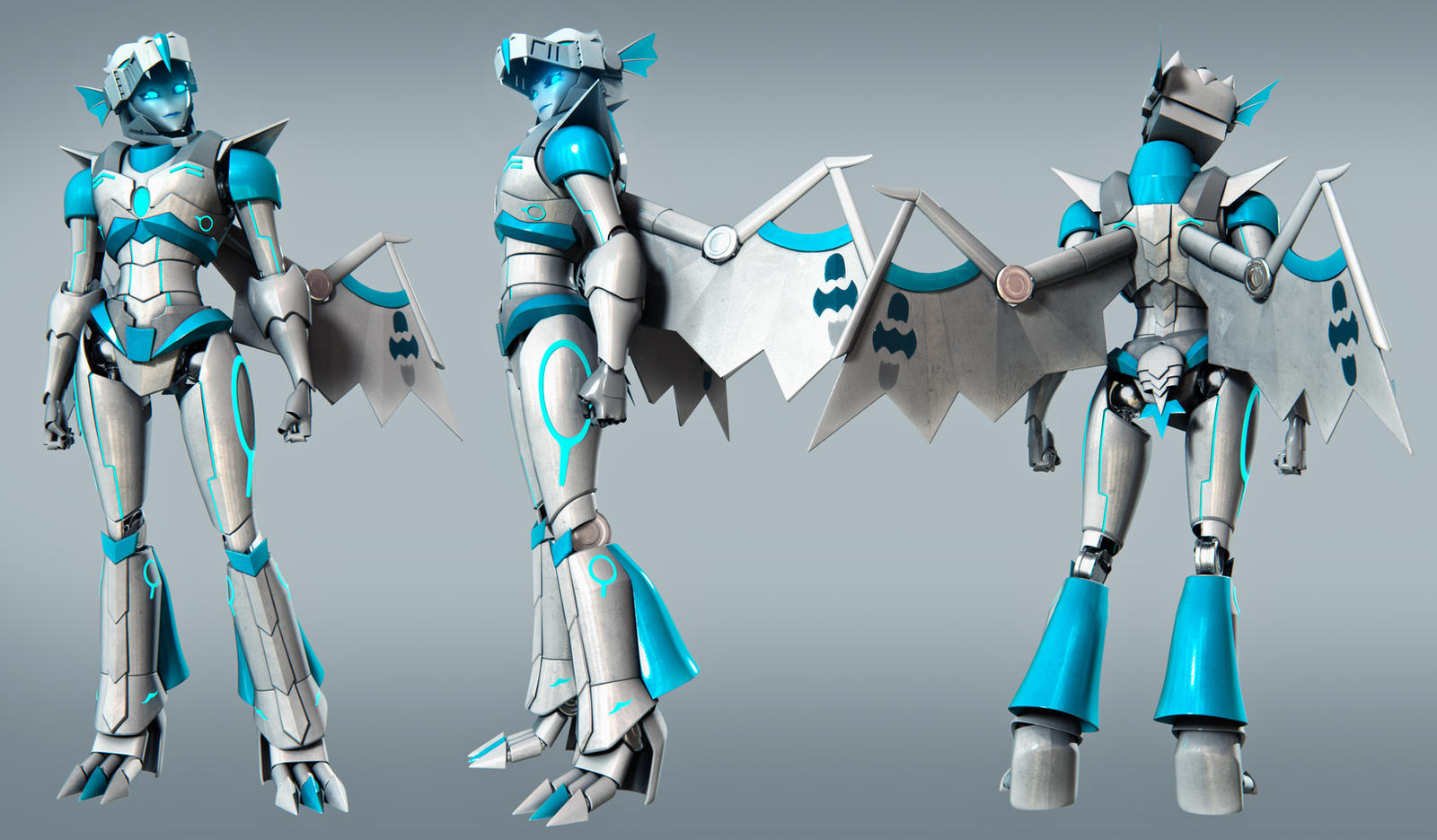 Dragalafly Turnaround ( COMMISSION ) by JPL-Animation