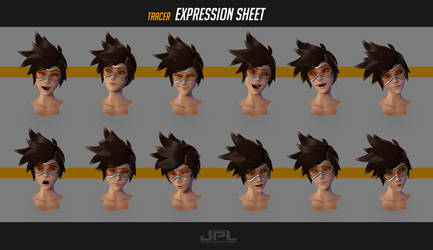 Tracer Expression sheet by JPL-Animation