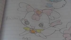 precure heartcatch mascot oc - posey