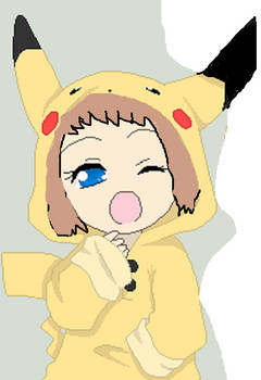 me at a young age *pika-costume*