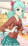 norisa's little sister, Ririka