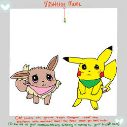 Mistletoe Meme *fluffy and volty*