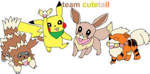 team cutetail by akarifan25