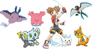 Pokemon Ranger soa  -kate and her team