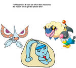 eod - little manaphy's ill with a bad fever