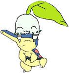 pokemon sun wedlocke - petala and Ty  *as kids*