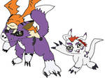 Takumi's Digimon (cyber Sleuth)