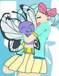 heart and her butterfree, flutter