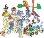 All Of Heart's Pokemon