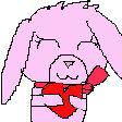 my Twitch Emote - Sakura The Bunny - Love