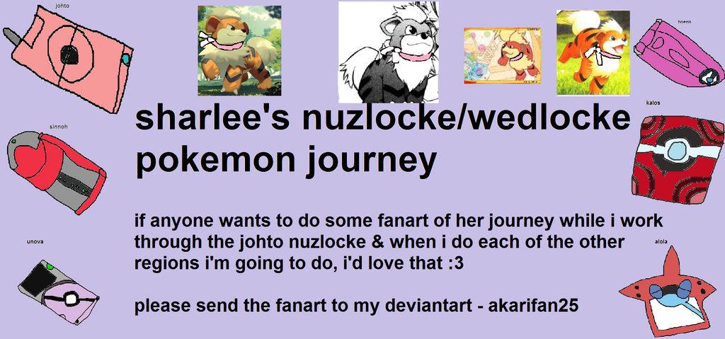 Sharlee's Nuzlocke-wedlocke Poster - youtube