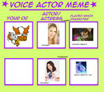 neopets - melly the doglefox's voice actresses