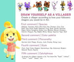 Draw yourself as a animal crossing villager