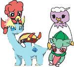 My Pokemon Shield - Crown Tundra Team
