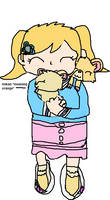 animal crossing NH - penny and her pet hamsters -