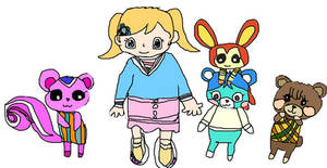 animal crossing NH - penny's friends