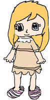 NH -Penny, With Her Hair Down And In Her Nightgown