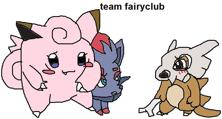 super mystery dungeon - team 2 - team fairyclub
