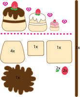 Cake pattern by Mokulen22